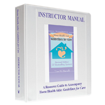 home health aide guidelines for care instructor manual marrelli