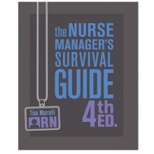New 4th Edition: Nurse Manager Survival Guide