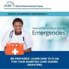 Diabetes and Emergency Preparedness