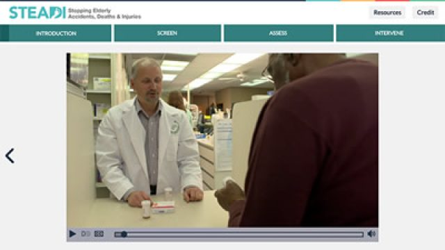 New Online Fall Prevention Training for Pharmacists